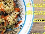 oggetti smarriti, sogni realizzati primo piatto gluten free: riso integrale curry carote