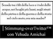 │Stimmung-overTwitter™ Yehuda Amichai│Era madre?
