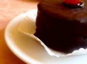 Tortine amarene glassate cioccolato