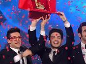 Volo vince Festival #Sanremo2015. Secondo Nek, terza Malika Ayane