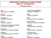 piacere abito sera, progetto Birra Moretti speciali degustazioni