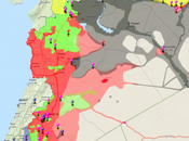 Siria: Isis altri. mappe rivelatrici
