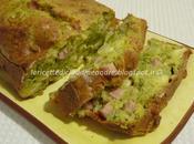 Cake broccoli, prosciutto fontina