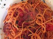 Pasta integrale tostata pomodori