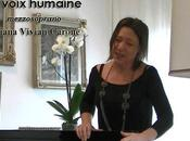 voce umana voix humaine)