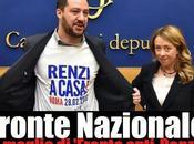 Salvini Meloni: prove tecniche 'Fronte Nazionale'!