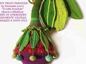 Crochet: GIPSY FRUIT PARADISE Opera Collettiva: Free Forbidden fruit Abilmente- Vicenza OMAGGIO EXPO 2015 Milano