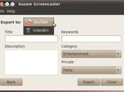 Rilasciata versione 1.4.5 Kazam software realizzare screencast perfetto.