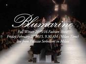 Milan Fashion Week live Streaming BLUMARINE