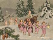 Antiche stampe punto croce: Paesaggio invernale