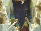 Schema punto croce: Madonna angeli