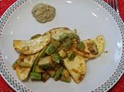 Tortelli crema carciofi, sugo zucchini with artichoke cream summer squashes sauce avec crème d'artichaut courgettes