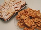 Tagliatelle dolci fritte fiocchetti: tutto Carnevale!!!!!