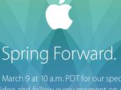 presentazione dell'Apple Watch sarà Marzo diretta streaming