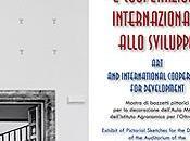 Arte cooperazione internazionale allo sviluppo Mostra bozzetti pittorici decorazione dell'Aula Magna dell'Istituto Agronomico l'Oltremare Firenze