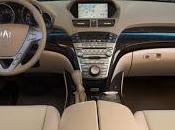 Acura 2012 interior