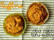 Mufffins integrali alla zucca, tofu olive