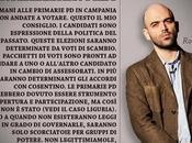 """Video. Saviano sulle primarie: """"Non andate votare, scambio voti potere"""""""