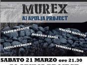 Apulia Project live alla CASA ALEX Milano marzo 2015 prima nazionale dello spettacolo MUREX