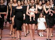 DOLCE&GABBANA: PASSERELLA INNO ITALIANO ALLA MAMMA