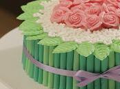 Videoricette tutorial dolcidee.it: torta mudcake bouquet rose festa della donna margherite primavera
