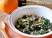 Flower sprouts all'arancia, zenzero nocciole with orange, ginger hazelnuts