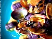 Gnocchetti patate viola Vongole Veraci crema ceci
