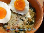 Zuppa gratinata cavolo nero uovo bazzotto