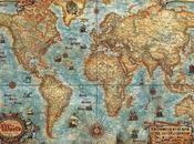 Schema punto croce: Planisfero antico_5