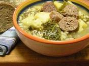 Zuppa rustica salsiccia