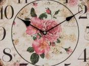 Schema punto croce: Orologio antico parete_2