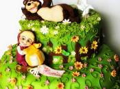Torta masha l'orso Masha bear cake