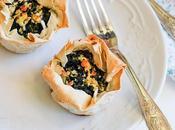 Mini spinaci feta Spinach mini pies