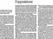 Effetto Renzi: fine ufficiale forza italia alcuni stelle vorrebbero entrare Governo, Editoriale Stefano Folli: partito Renzi scompagina l'opposizione, marzo 2015