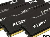 Kingston presenta memorie HyperX Fury DDR4