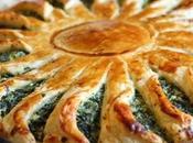 Torta fiore verdure ricotta...da Sale pepe