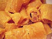 Mezzi paccheri crema robiola, guanciale curry