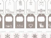 Freebies natalizi: tags impacchettare
