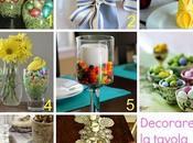 Come decorare addobbare tavola pasquale