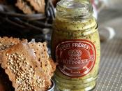 Cracker segale, kefir senape rustica crackers with rustic mustard