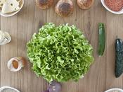 Veggie Burger quinoa, zucchine lenticchie salsa alla senape miele.