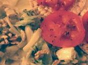 Gallette Riso scarola noci pomodoro origano