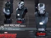 Avengers: Ultron, online facts, ecco busti Iron Machine