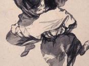 Streghe vegliarde. disegni Goya