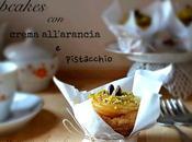 Cupcakes crema all'arancia granella pistacchio