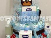 dolce torta pannolini nostro orsetto NOAH!!!