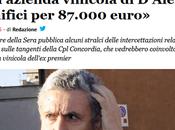 Giornalismo-spazzatura Giornalettismo-spazzatura: D'Alema macchina fango