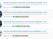 Dove come comprare commenti pagine profili Facebook