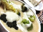 Zuppa frutta disidratata broccoli gorgonzola