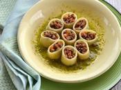 anelli ripieni carne alla birra pesto pistacchi